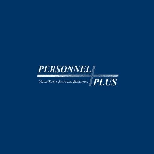 Logotipo de Personnel Plus Banner