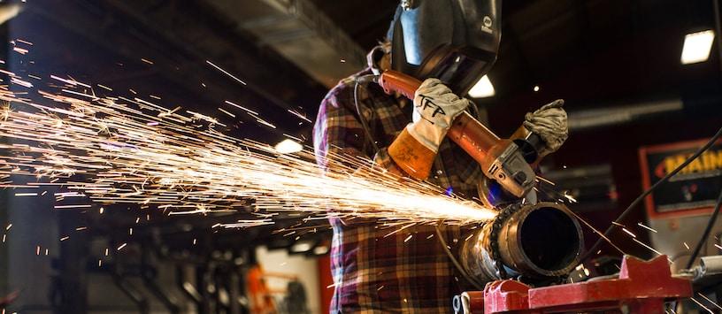 welding, or grinding