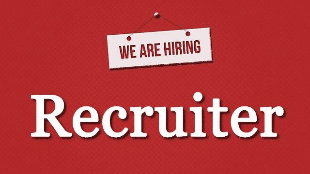 We-are-hiring-Recruiter