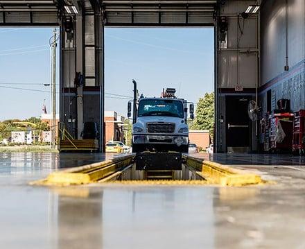 service semi trailer